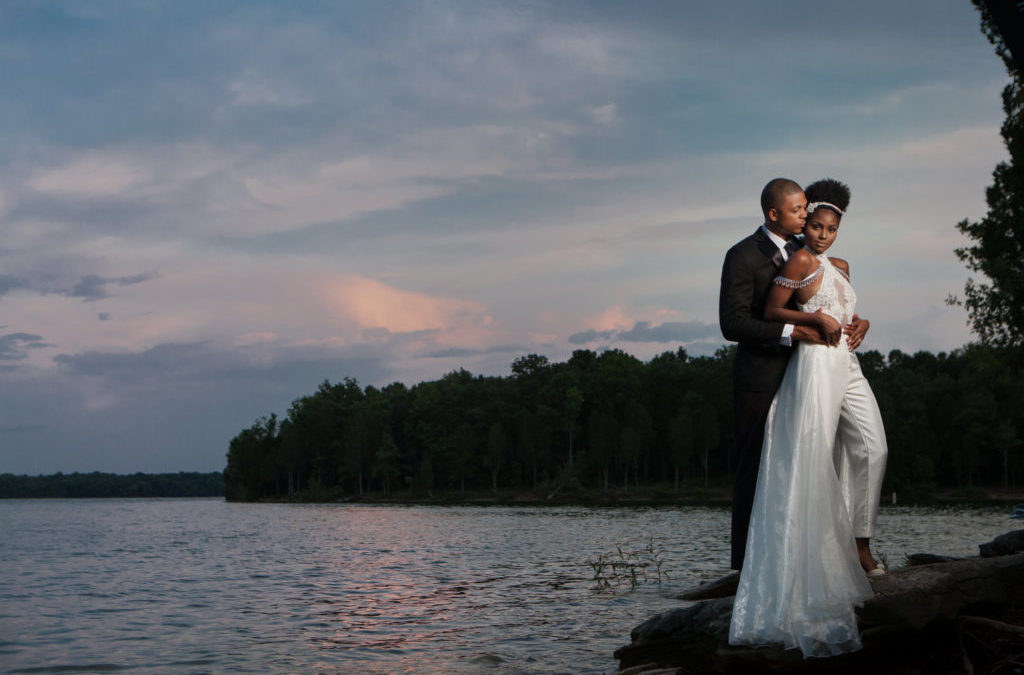 "A Glam Lakeside ""I Do"" Wedding Styled Shoot"