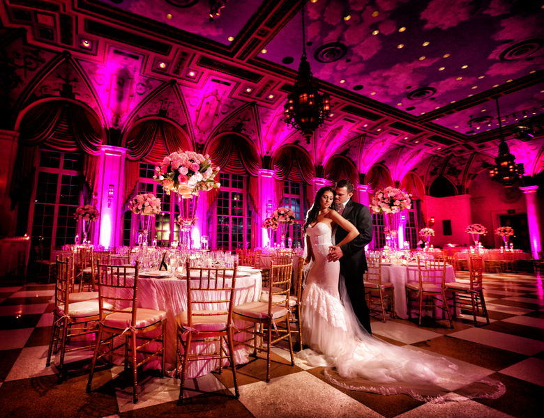 An Elegant Wedding at The Breakers Palm Beach, Danielle & Evan