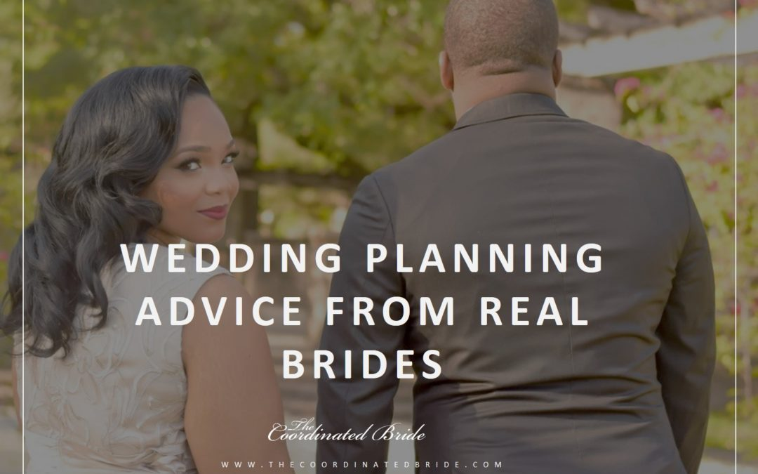 Coordinated Conversations: Wedding Planning Advice from Coordinated Brides Part 1
