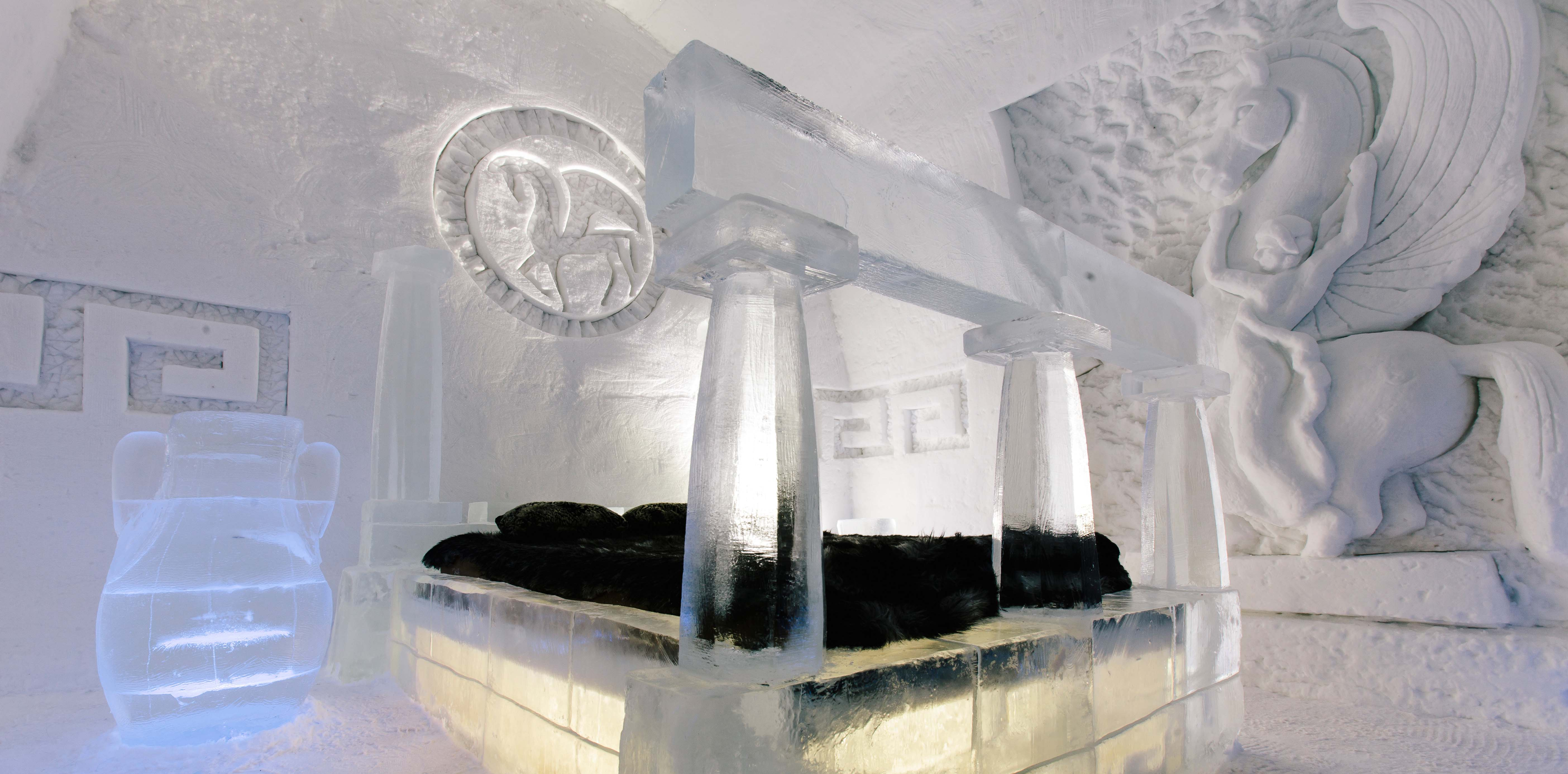 Québec Canada Quebec City S Ice Hotel