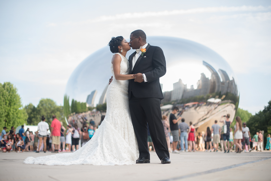 A Beautiful Summer Chicago Wedding – Christina & Truman