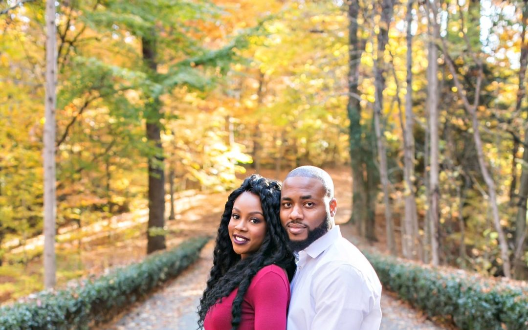 Romantic and Lush Engagement Shoot – Prince and Omenka
