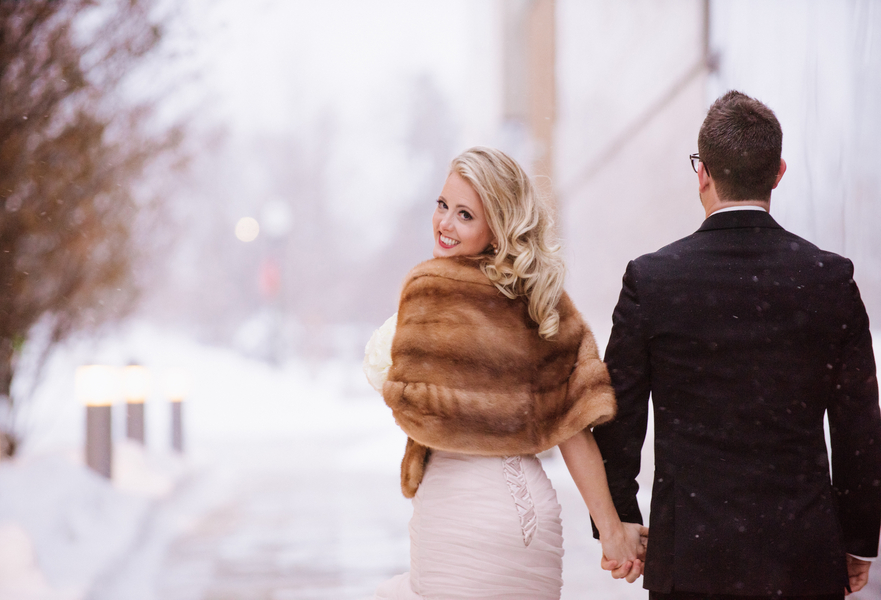 An Old Hollywood Glam New Year's Eve Wedding in Canada