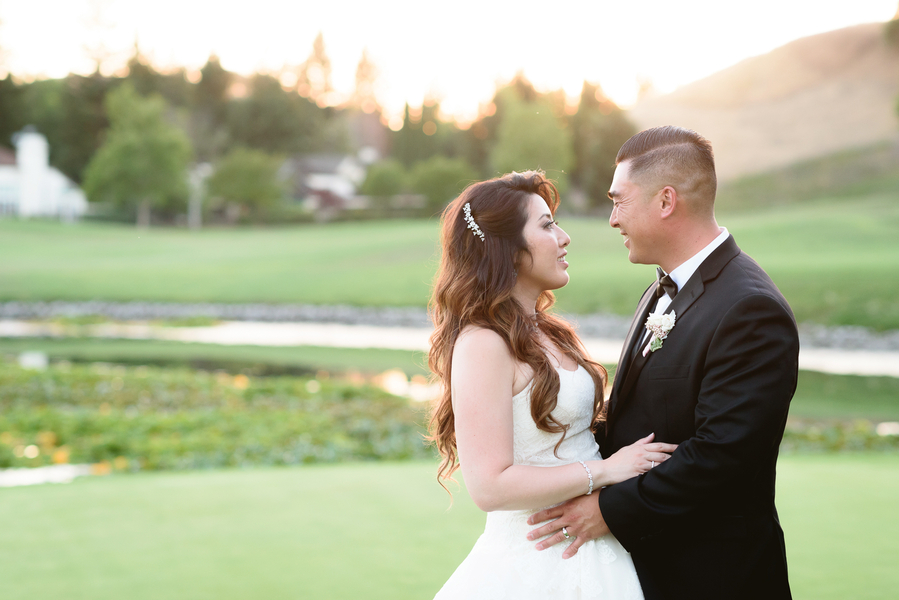 Modern Glam California Wedding