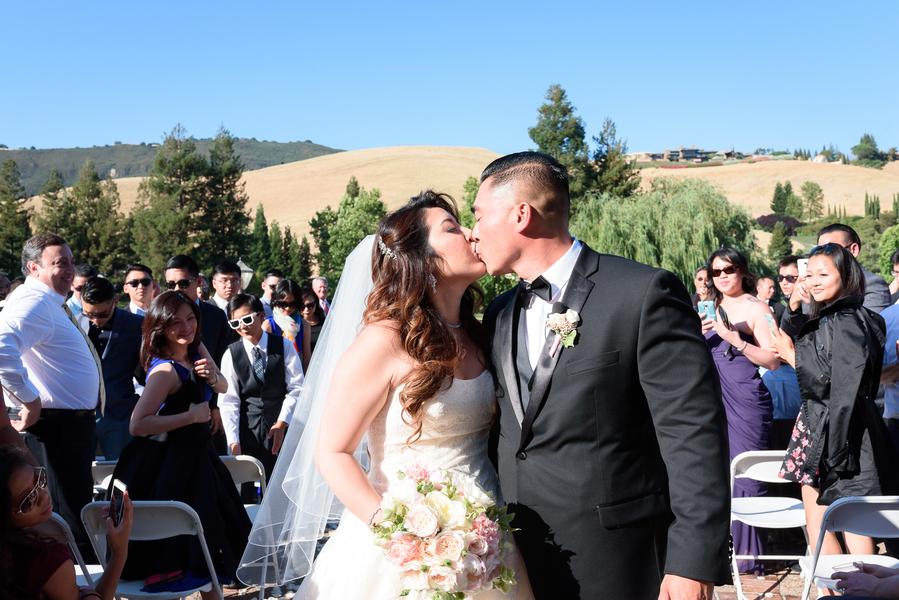 Modern Glam California Wedding