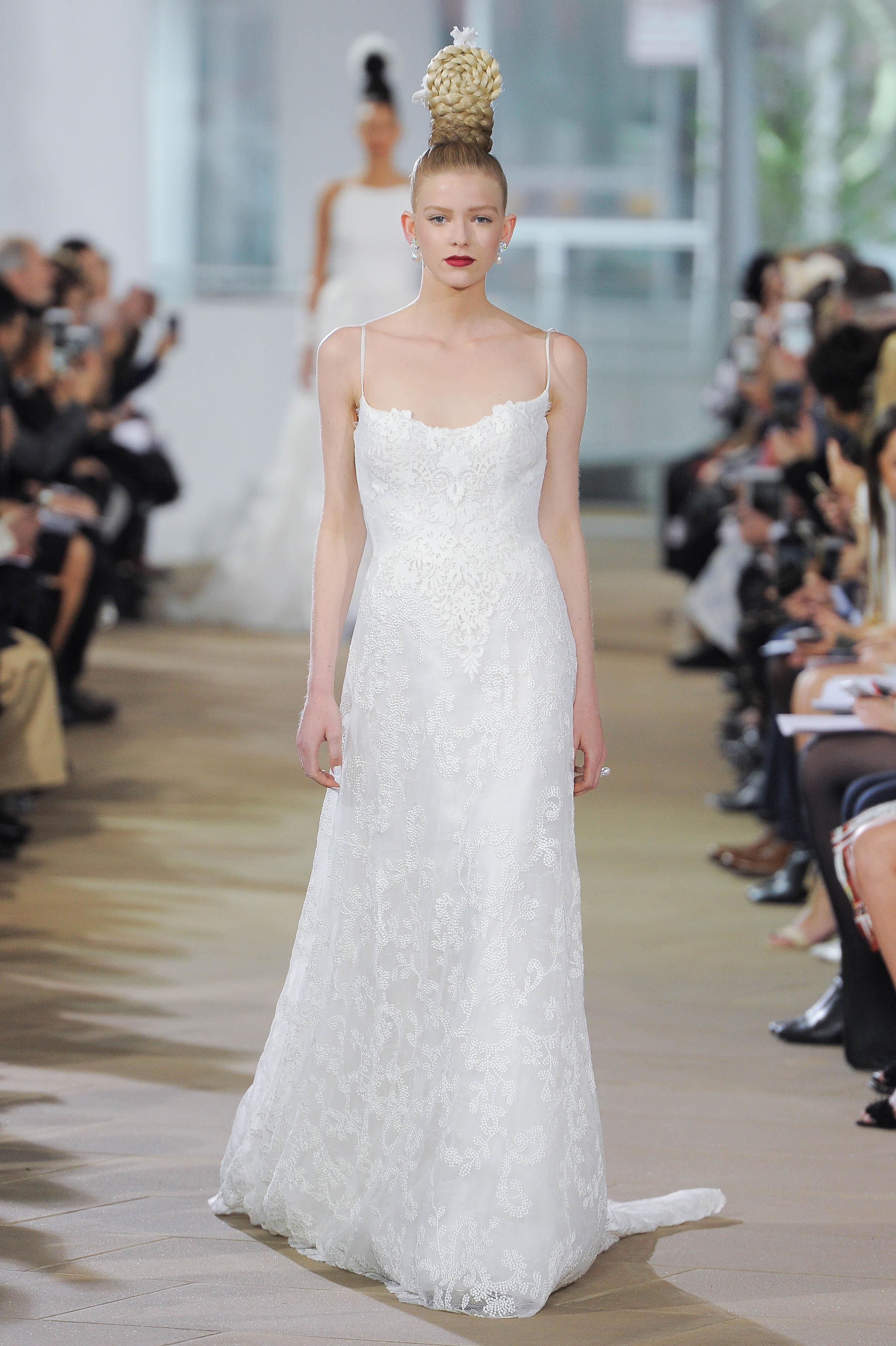 ec754a396d83 INES DI SANTO SPRING 2018 BRIDAL RUNWAY SHOW | The Coordinated Bride