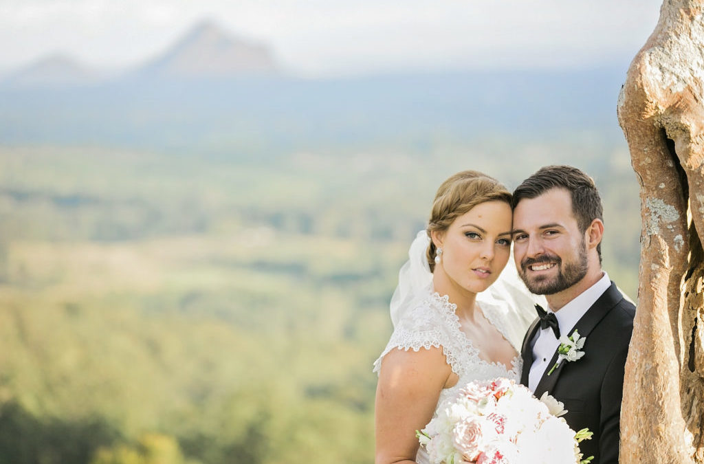 A Charming Australian Wedding at Maleny Manor