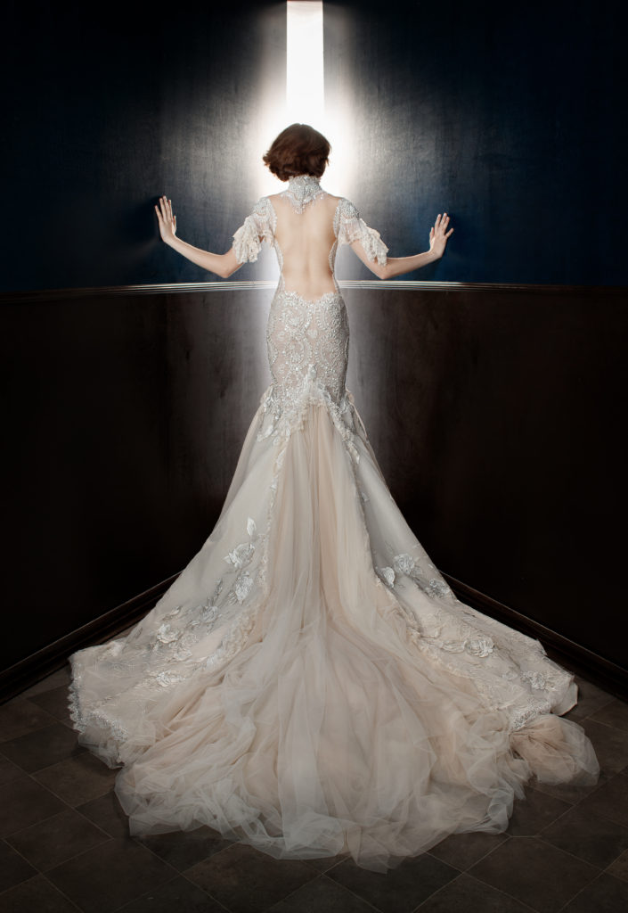 The Coordinated Bride Galia Lahav Ms. Genesis Back