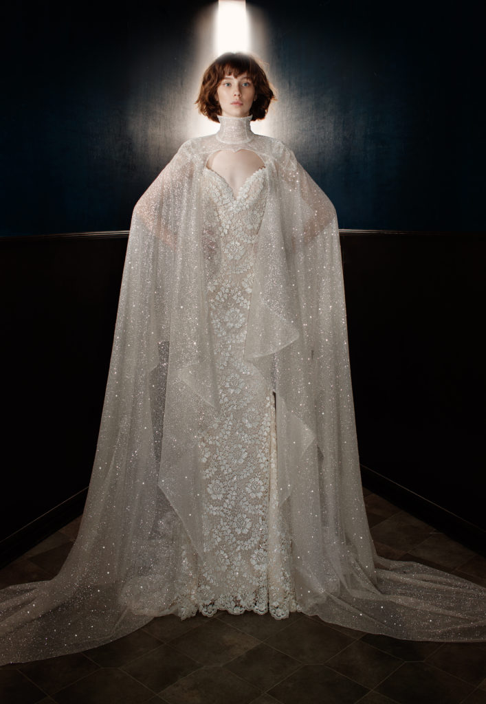 The Coordinated Bride Galia Lahav Rayne with Sterling Cape