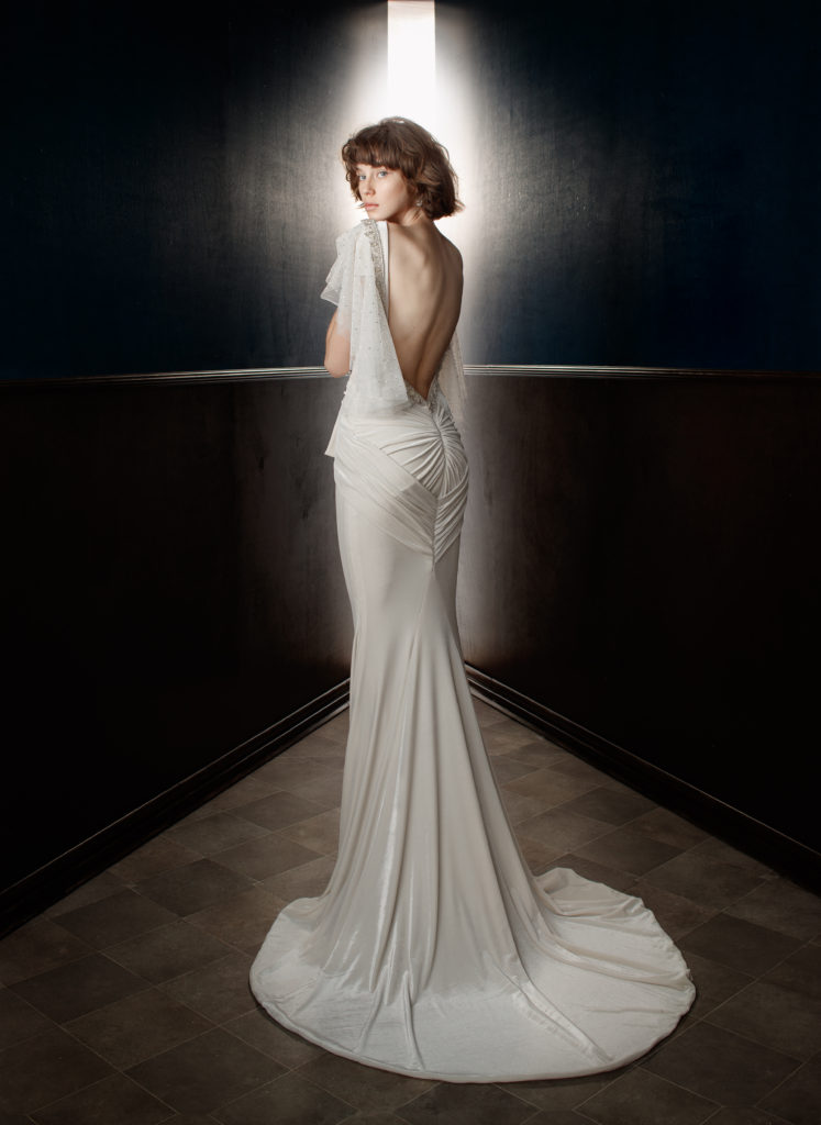 The Coordinated Bride Galia Lahav Velvet Back