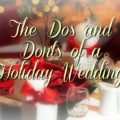 Do'sand Don'ts Holiday Wedding.jpg