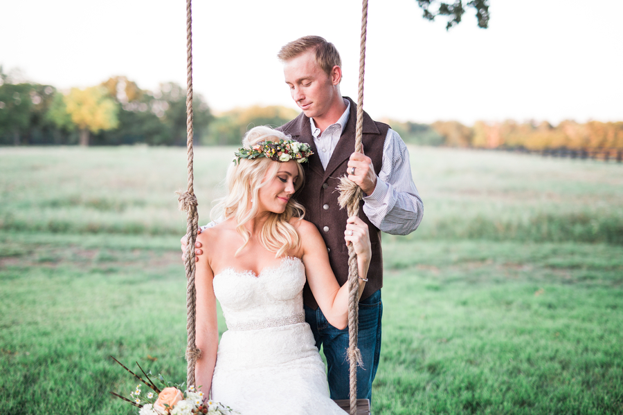Alison and Daniel's Boho Barn Wedding