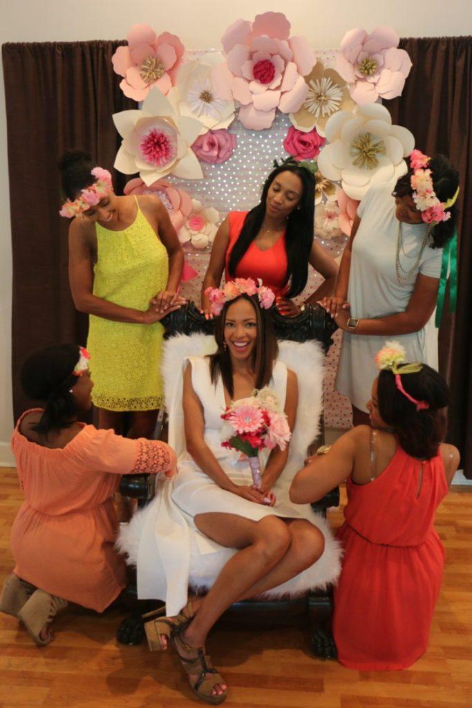 The Coordinated Bride HarmonyFlowerBridalShower181