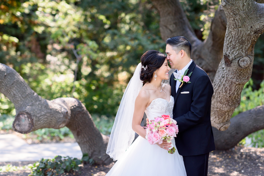 A Modern Blush & Gold California Wedding