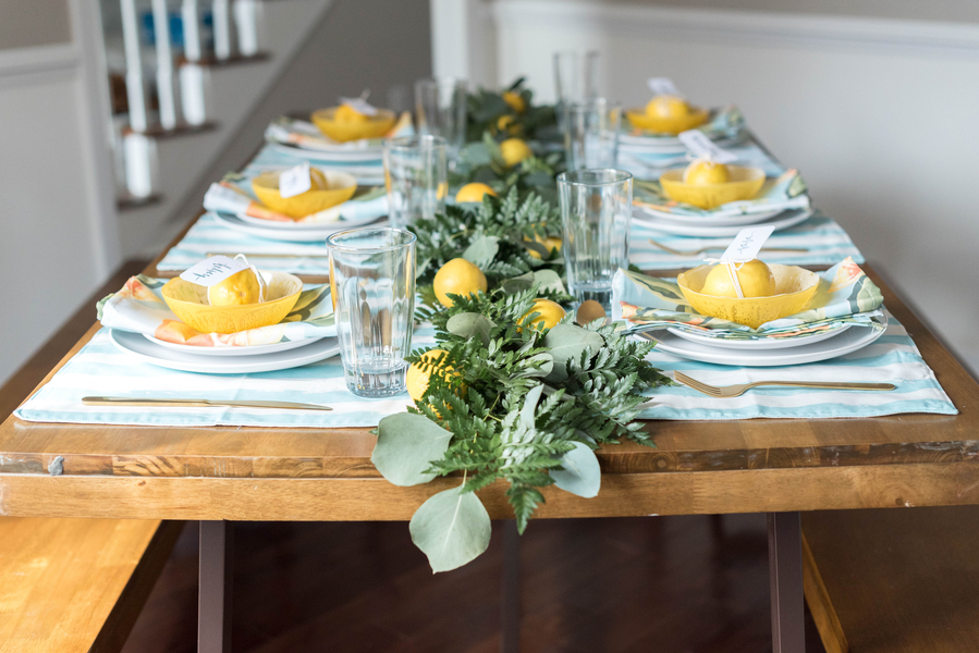 A Citrus Themed Bridal Brunch