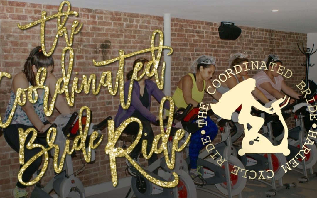 THE COORDINATED BRIDE RIDE, A COLLABORATION WITH HARLEM CYCLE