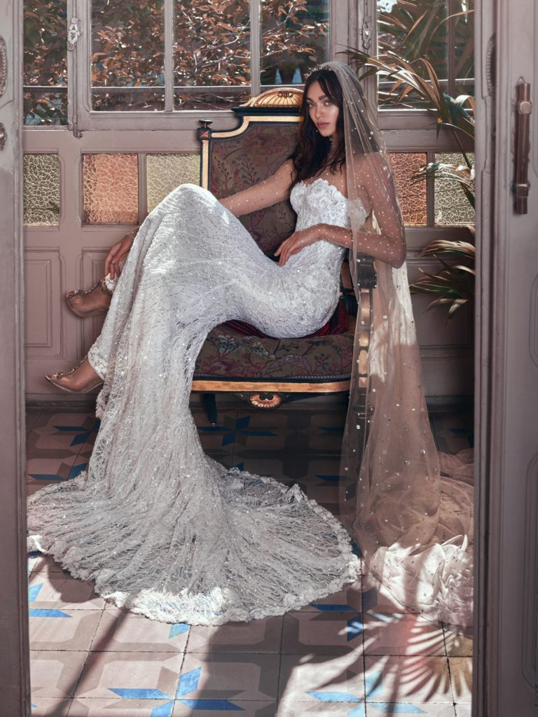 The_Coordinated_Bride_Galia_Lahav_Victorian_Afinity_Inez and Stardust veil