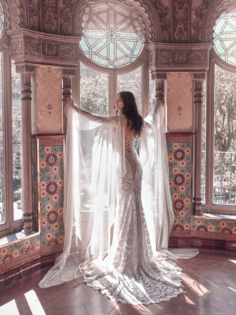 The_Coordinated_Bride_Galia_Lahav_Victorian_Afinity_Rayne and Stardust cape back