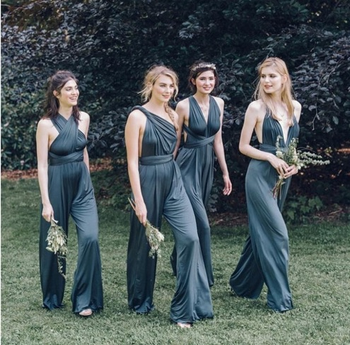 4d7deeed67 5 Non Traditional Bridesmaid Dresses For Your Wedding The