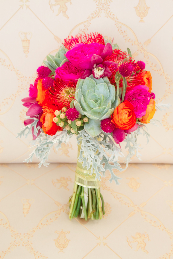 The Coordinated Bride Bouquet Flower Inspiration 1