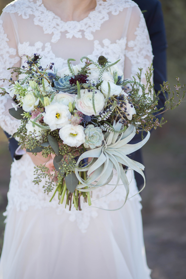 The Coordinated Bride Bouquet Flower Inspiration 10