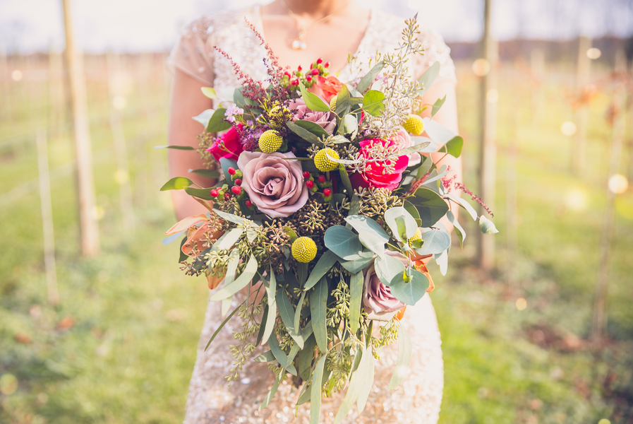 The Coordinated Bride Bouquet Flower Inspiration 11