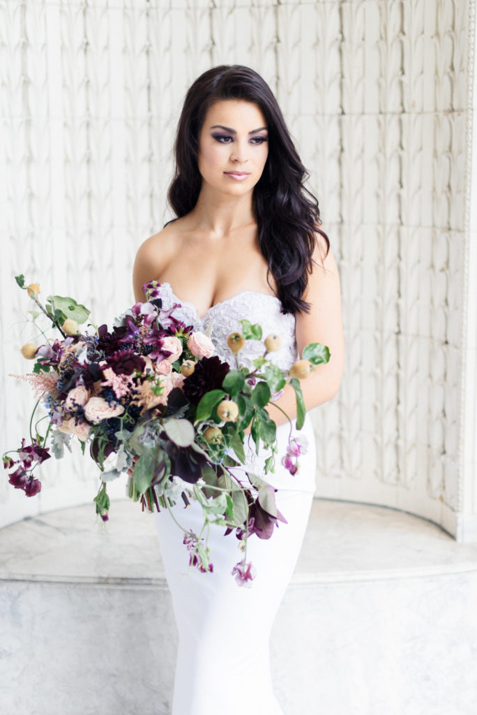 The Coordinated Bride Bouquet Flower Inspiration 13