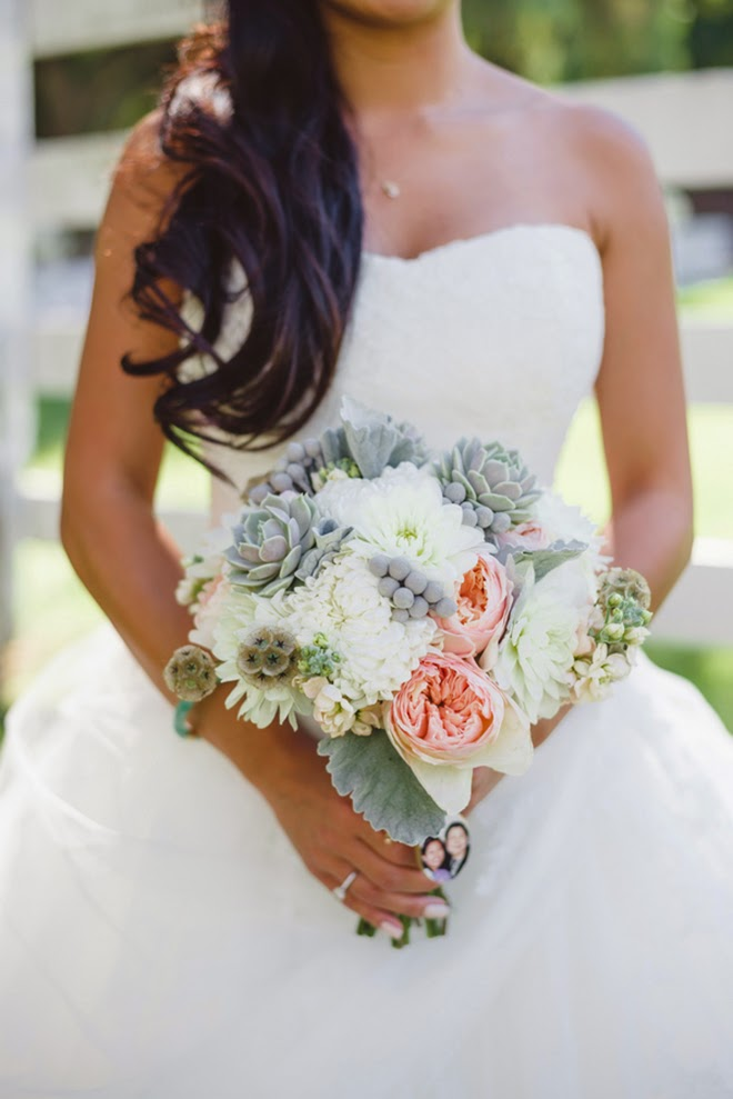 The Coordinated Bride Bouquet Flower Inspiration 17