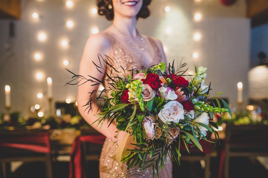 The Coordinated Bride Bouquet Flower Inspiration 3