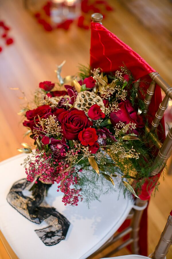 The Coordinated Bride Bouquet Flower Inspiration 7