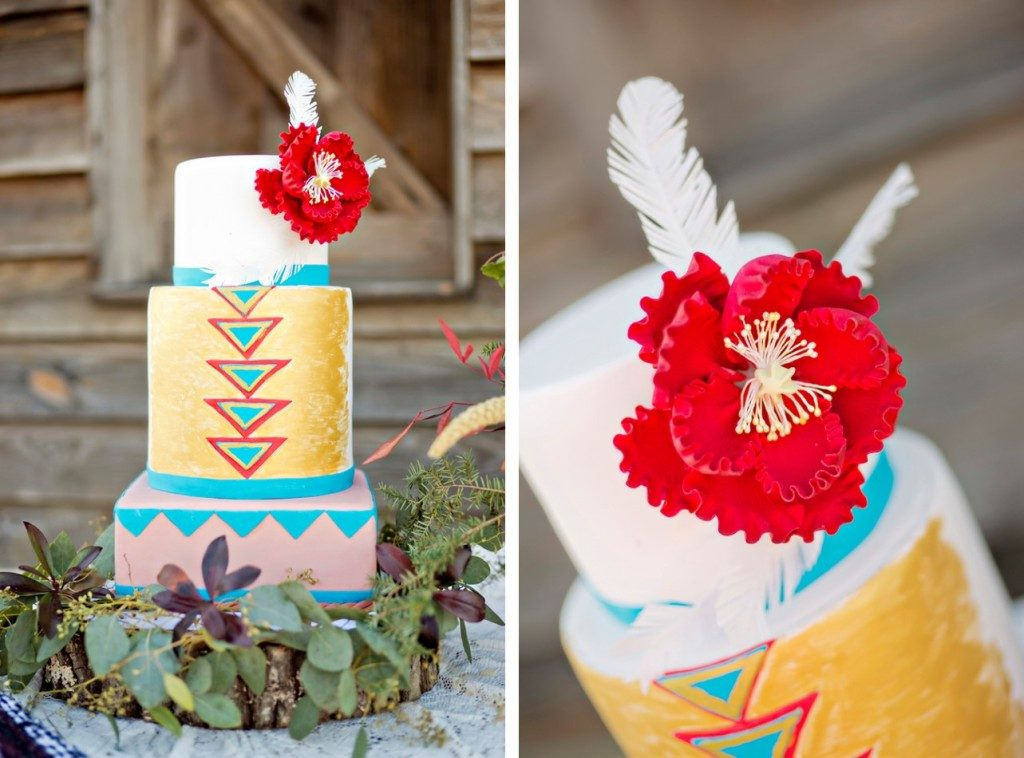 The Coordinated Bride Cake Inspiration 18