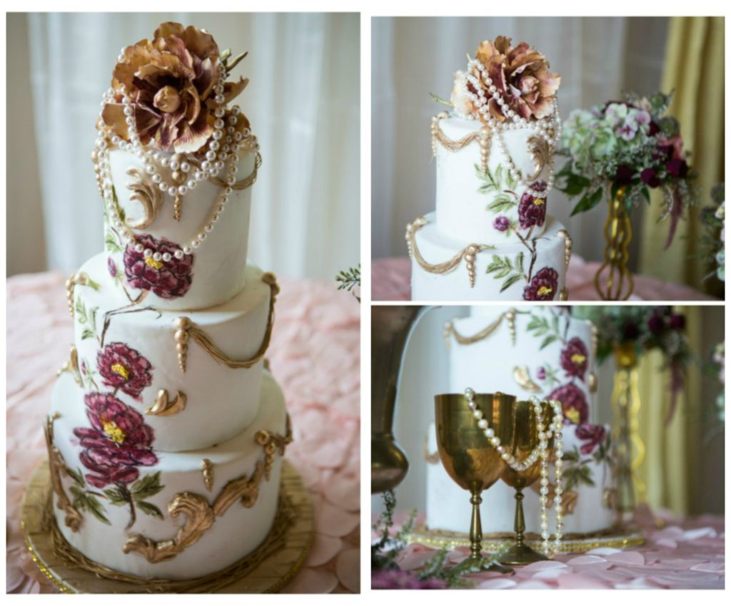 The Coordinated Bride Cake Inspiration 21.1