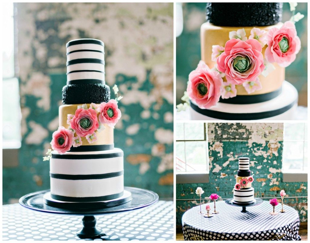 The Coordinated Bride Cake Inspiration 24
