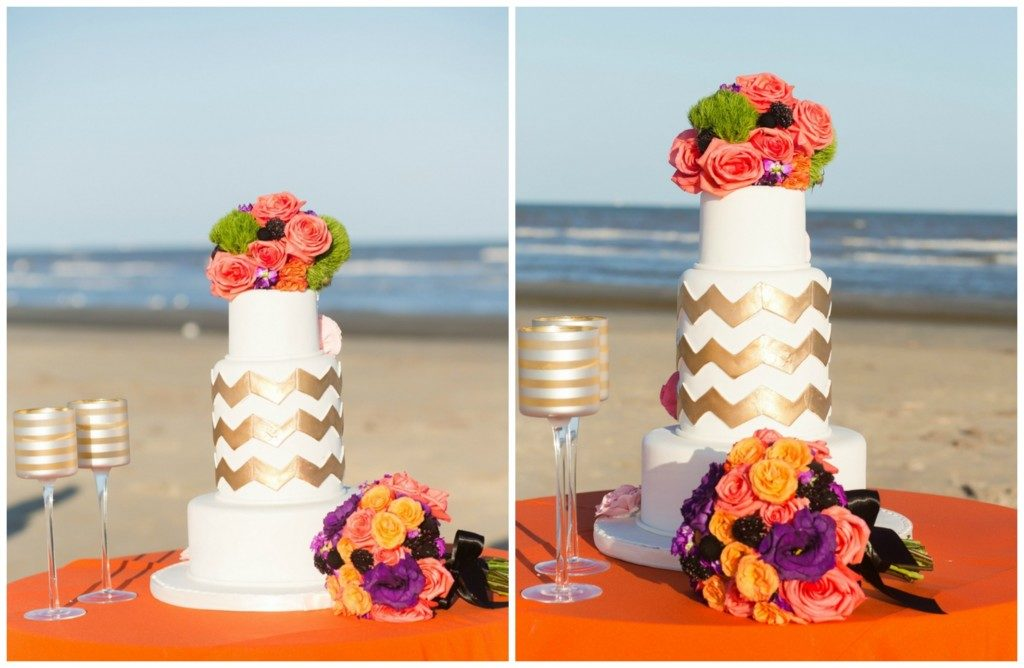 The Coordinated Bride Cake Inspiration 26