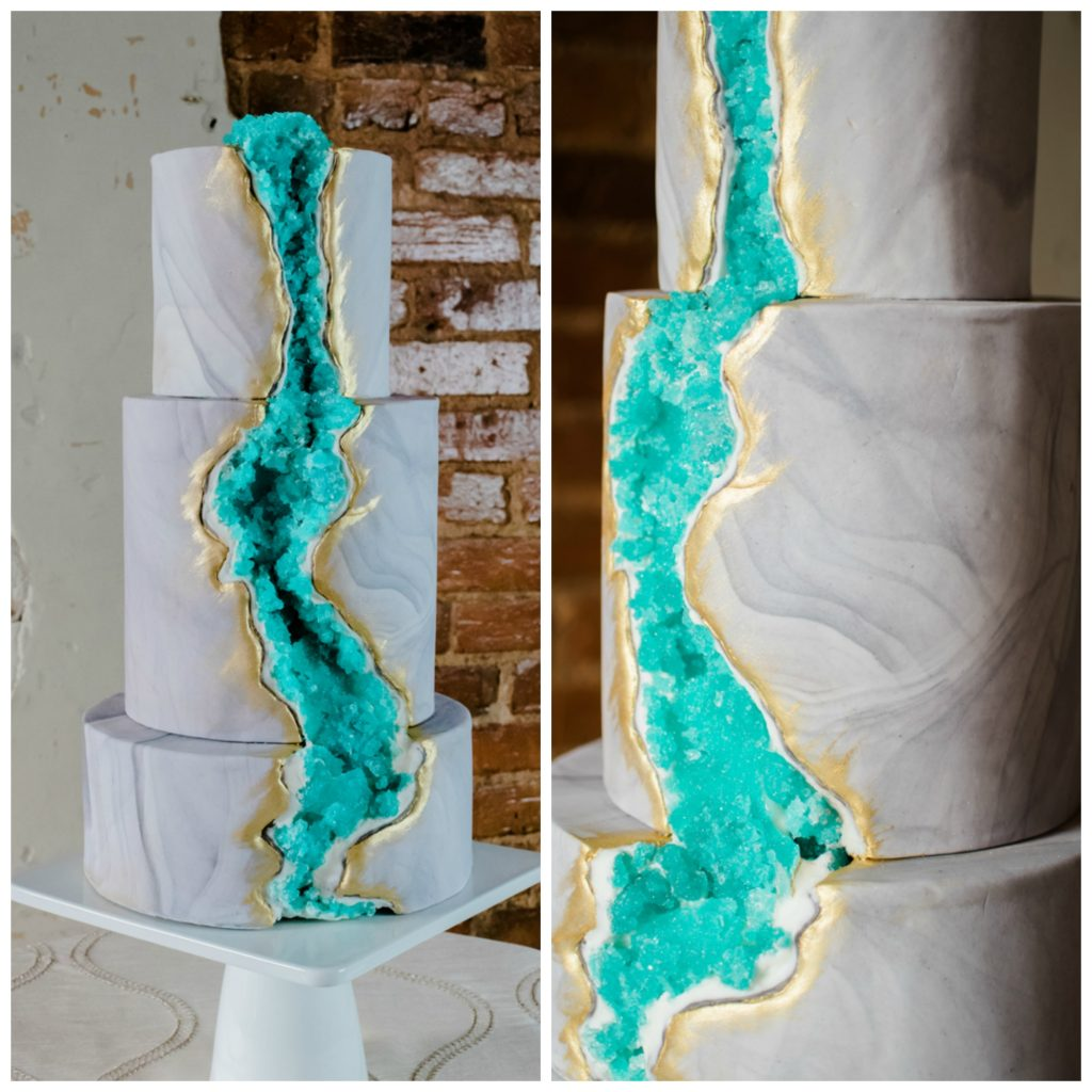 The Coordinated Bride Cake Inspiration 27