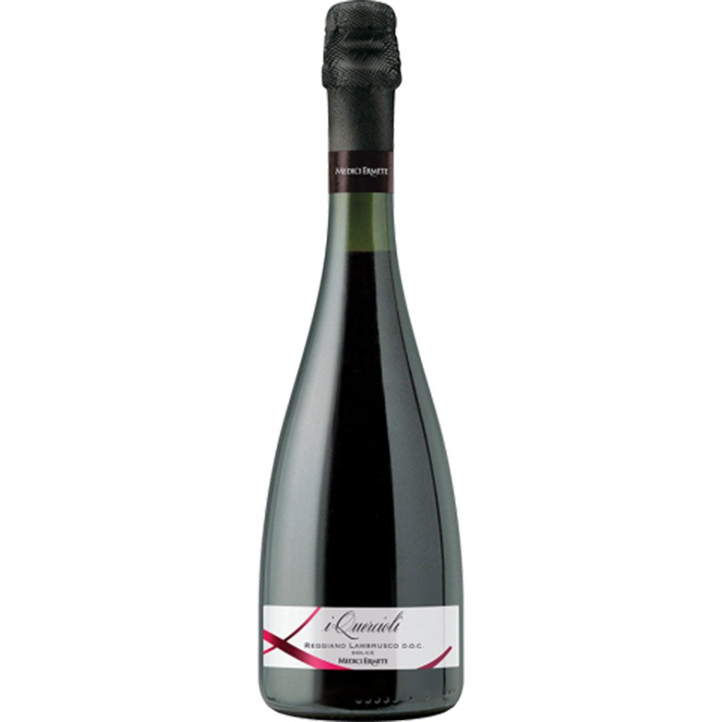 The Coordinated Bride Summer Wine I Quercioli Lambrusco Dolce NV Reggiano, Medici Ermete