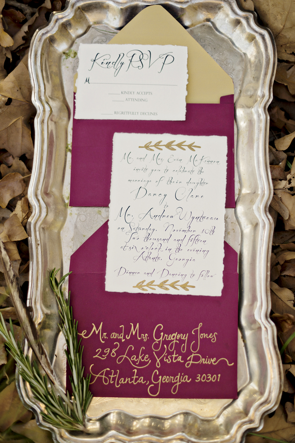 The Coordinated Bride Wedding Stationery Inspiration 1