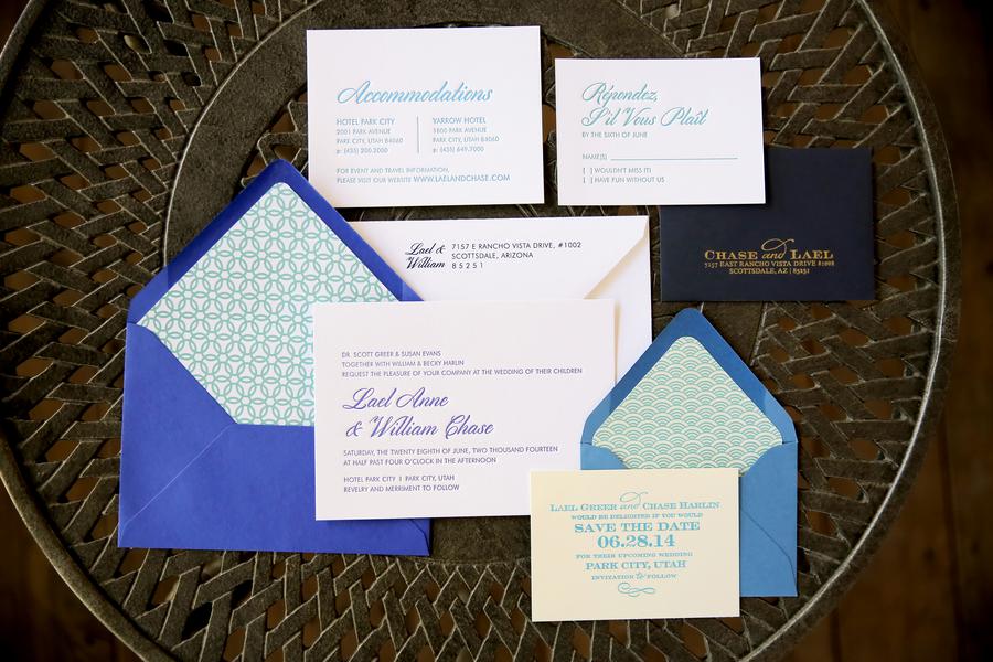 The Coordinated Bride Wedding Stationery Inspiration 10