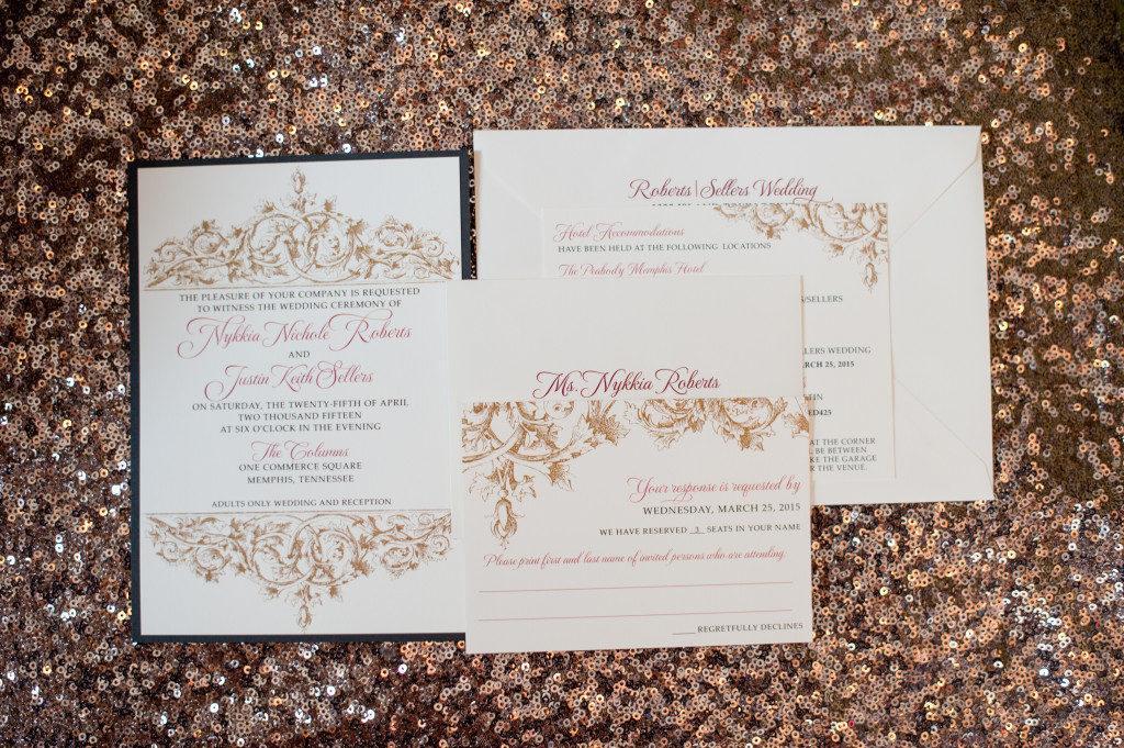The Coordinated Bride Wedding Stationery Inspiration 12