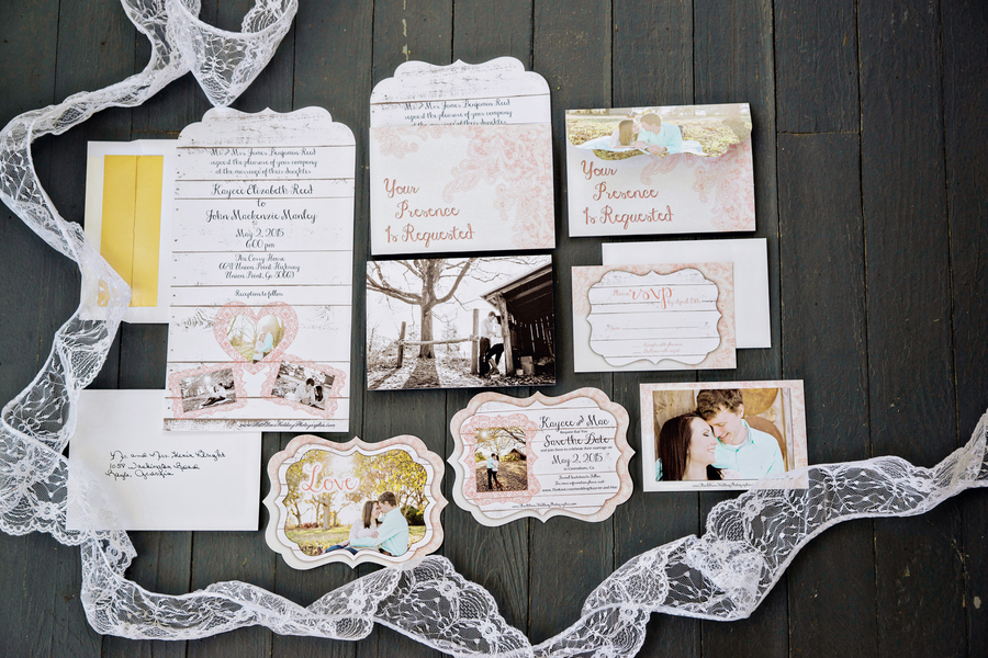 The Coordinated Bride Wedding Stationery Inspiration 14