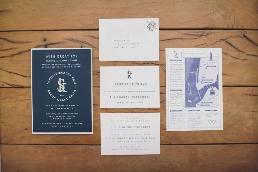 The Coordinated Bride Wedding Stationery Inspiration 15