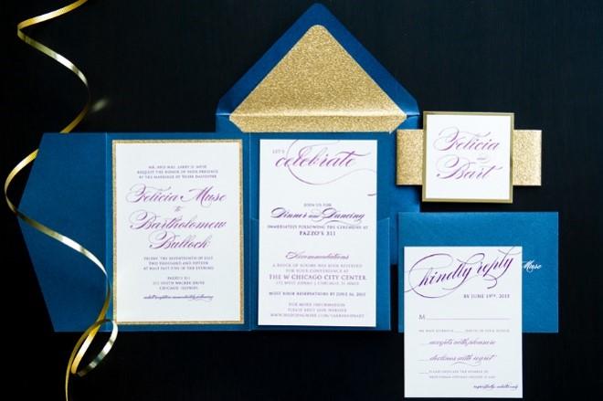 The Coordinated Bride Wedding Stationery Inspiration 19