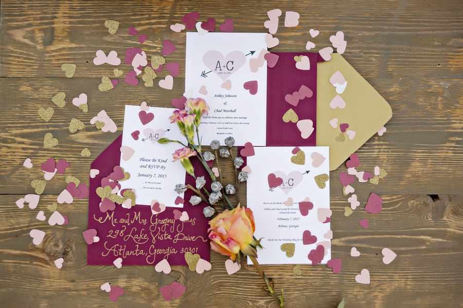The Coordinated Bride Wedding Stationery Inspiration 5