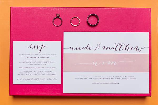 The Coordinated Bride Wedding Stationery Inspiration 6