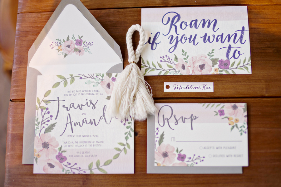 The Coordinated Bride Wedding Stationery Inspiration 7