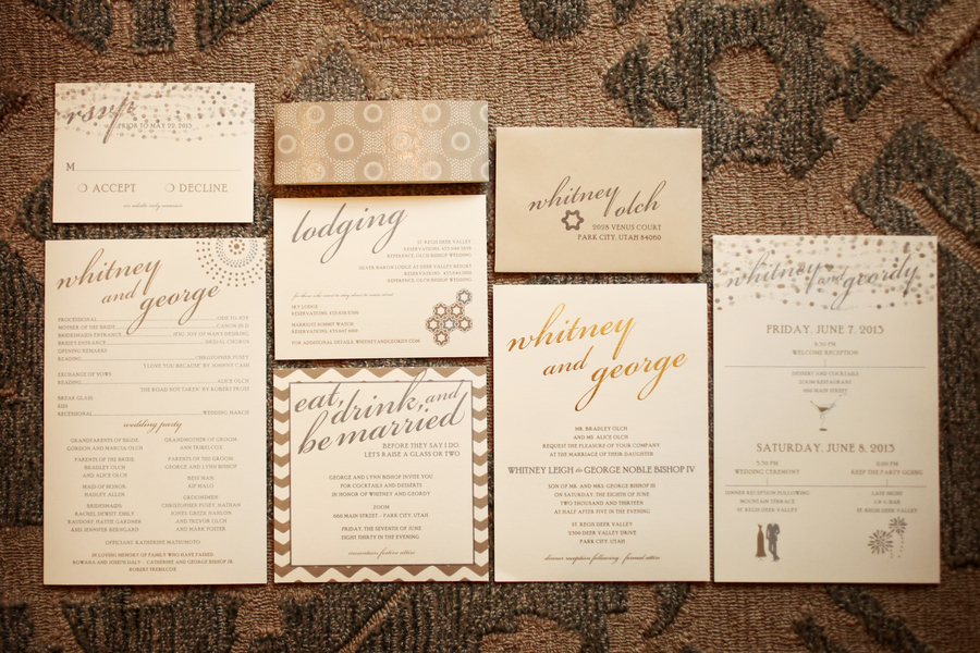 The Coordinated Bride Wedding Stationery Inspiration 8
