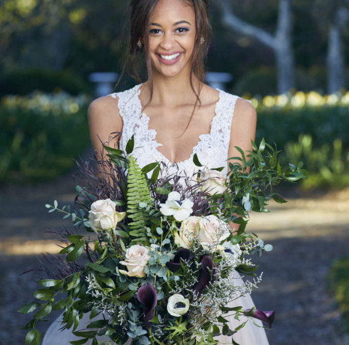 Blushed Nuptials, An Intimate Garden Styled Shoot