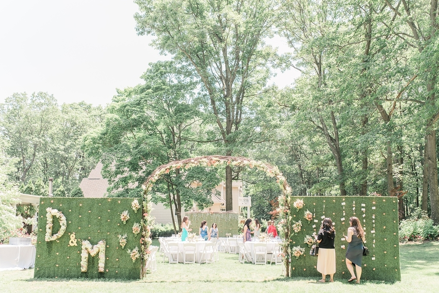 Long Island, NY DIY Garden Themed Bridal Shower
