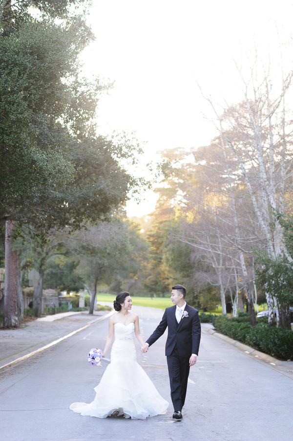 Elegant Purple & Lavender Winter Wedding