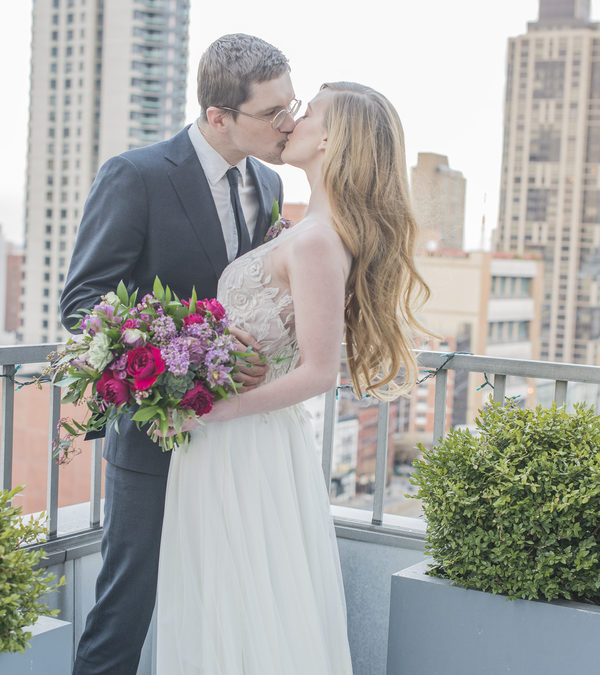 Iconic Jewel Toned Manhattan Wedding